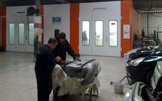 talleres de chapa y pintura en Móstoles, empresas poligono arroyomolinos mostoles