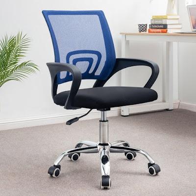 6d75d504a9a17e9f1e3f602f370ff604 800x800 1 Ghế văn phòng chân xoay GLMV1   Màu xanh dương   Mẫu màu mới, đẹp, lạ