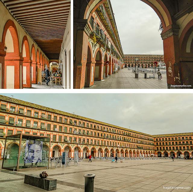 Plaza de la Corredera, Córdoba, Andaluzia