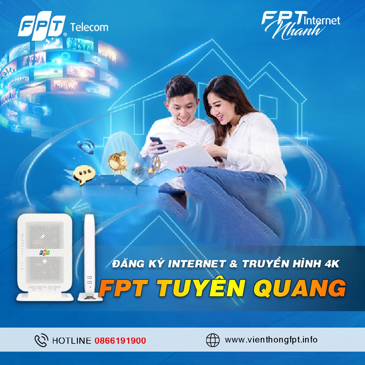 Đăng ký Internet FPT tại Tuyên Quang