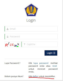 login pendaftaran ereg npwp pajak online