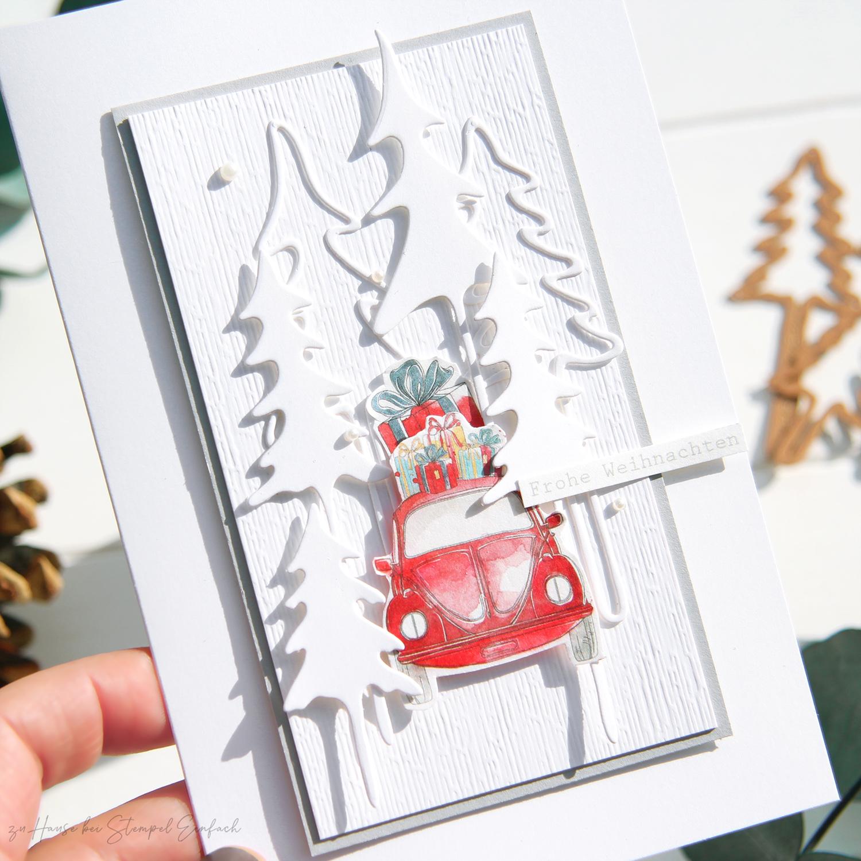 Weihnachtskarte-Auto-Alexandra-Renke
