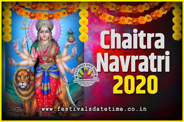 Date And Time Calendar 2020 2020 Chaitra Navratri Pooja Date and Time, 2020 Navratri Calendar