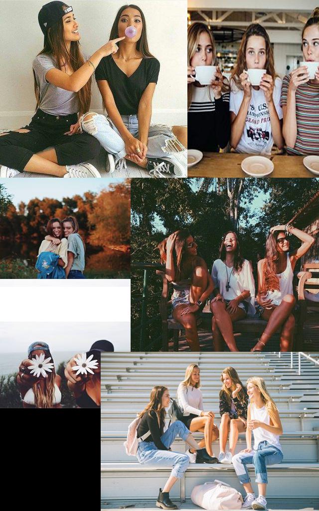 10 fotos para te inspirar na hora de fotografar com as amigas