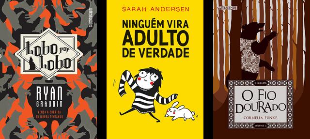 Lançamento de Livros - Setembro / Editora Seguinte