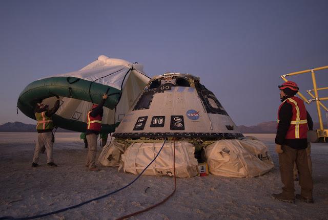 Boeing'in Starlineri, Durdurulmuş Uzay İstasyonu Görevinden Sonra Dünyaya Güvenle Dönüyor