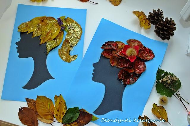 Jesienne stylizacje z liści