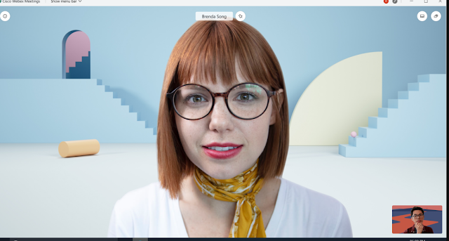 Virtual Background Webex Meeting