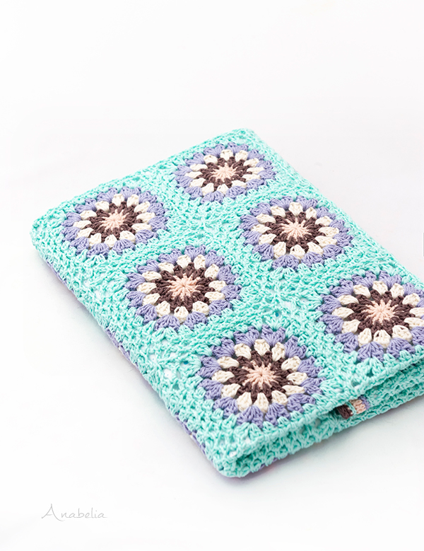 Crochet Stroller Blanket, Anabelia Craft Design