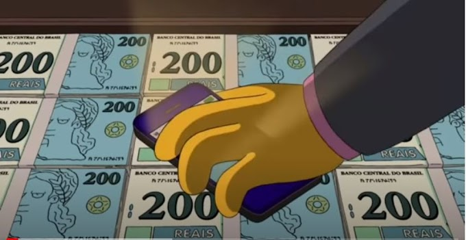 Simpsons 'previu' nota de R$ 200 em episódio de 2014