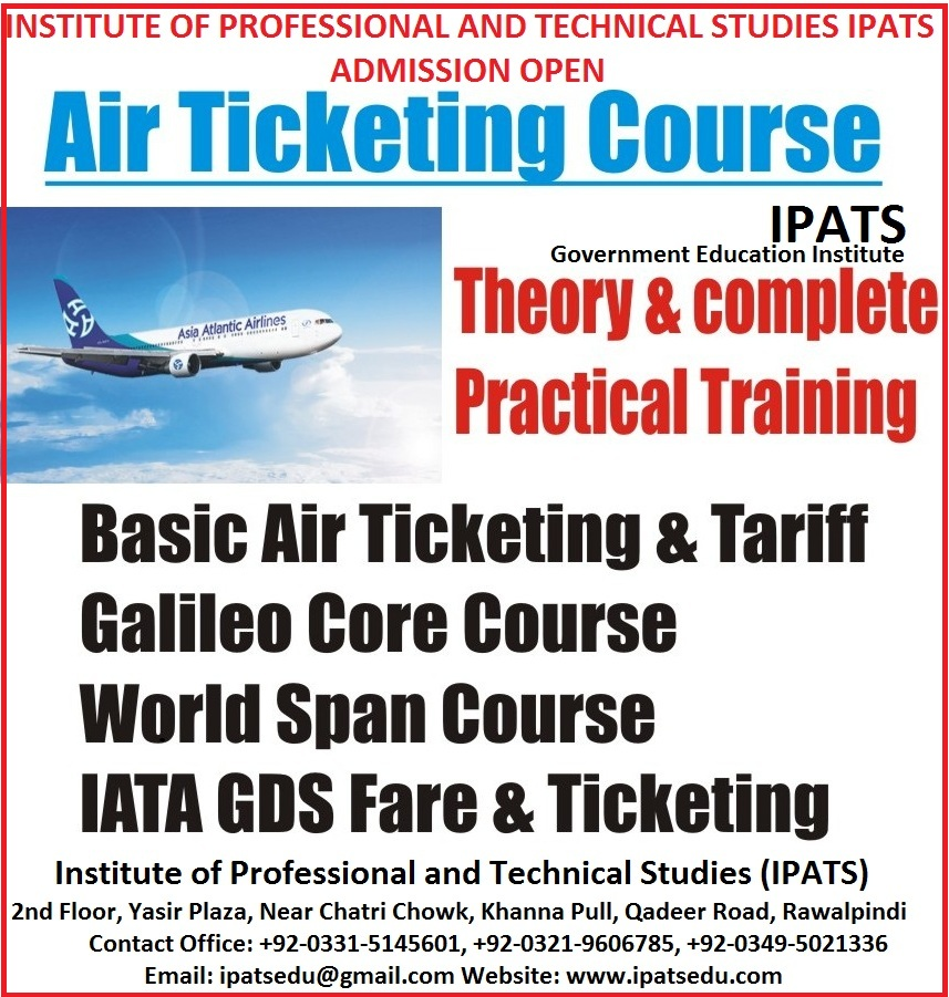 Airlines Reservations, eTicketing & PNR Management Training course outline:   Lesson 1 - Introducti