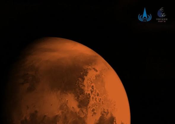 Marte: in orbita la sonda cinese Tianwen-1