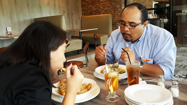 Lunch With ALH's Visitor At Pizza San Francisco, Bukit Jelutong