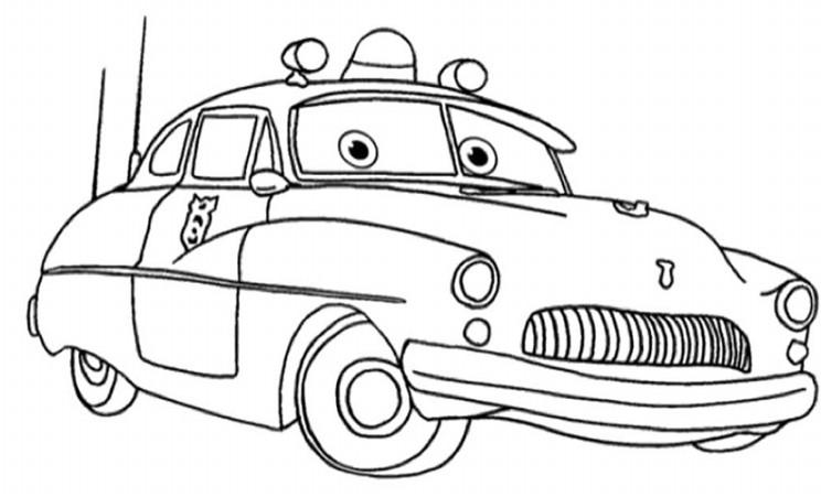 Gambar Mewarnai Gambar Lightning Mcqueen Tokoh Film Cars ...