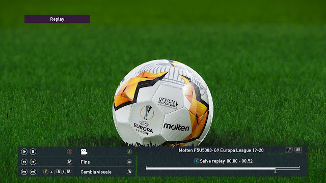 Molten Europa League Knock Out 2020 Ball For Ballserver 2020