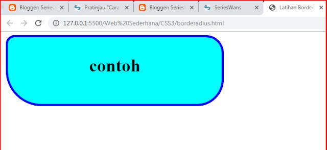 Cara Membuat Round Corner (Sudut Melengkung) CSS di Blog