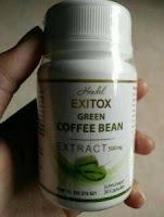 Kapsul Herbal Exitox Green Coffee Tea Bean