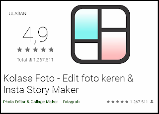 Kolase Foto - Edit foto keren & Insta Story Maker