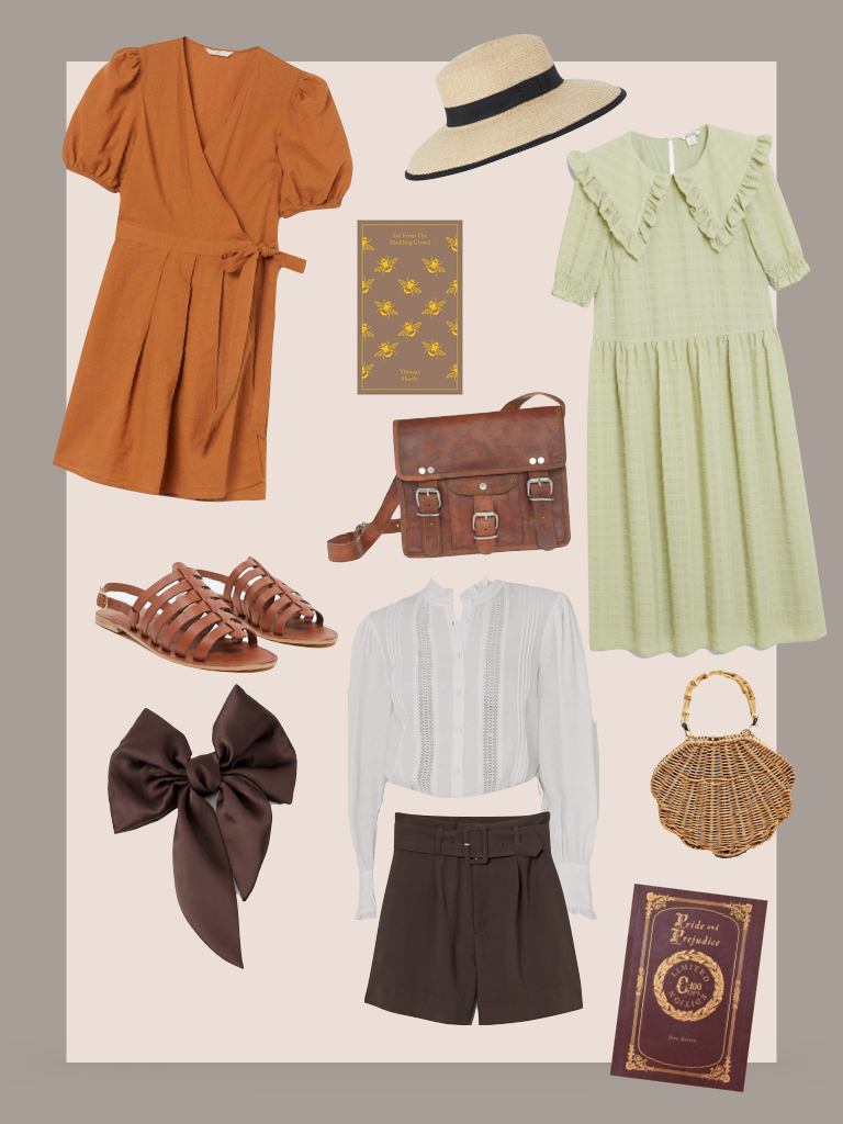 Summer Dark Academia Outfit Ideas