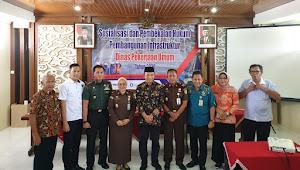 Kejari Banyumas Sosialisasi dan Pembekalan Hukum Pembangunan Infrastruktur Dinas Pekerjaan Umum Tahun 2020