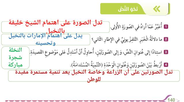 حل درس عصفور الزيبرا لغة عربية الصف السابع الفصل الثالث