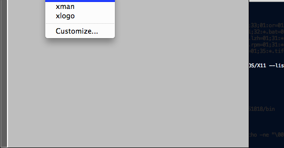 UnableToRemember: Mac OSX - running xterm and X11 xhost: unable to