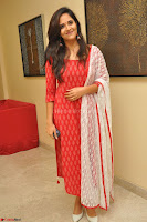 Anasuya Bharadwaj in Red at Kalamandir Foundation 7th anniversary Celebrations ~  Actress Galleries 005.JPG