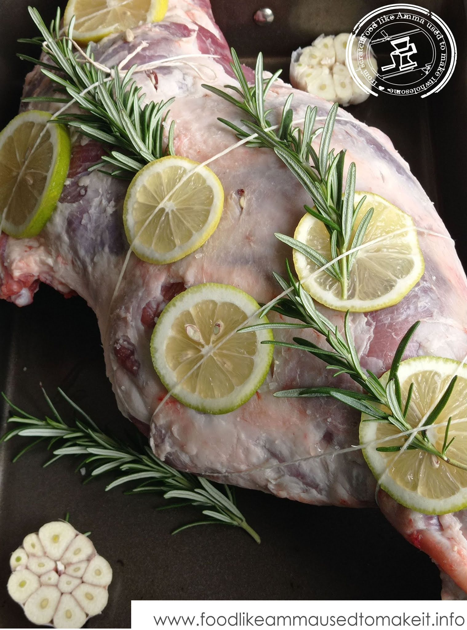 how to make leg of lamb