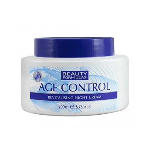 Beauty Formulas Age Control Revitalising Night Cream (200 ml)