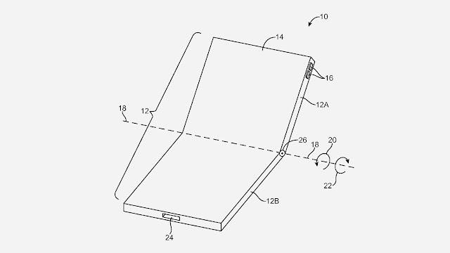 أبل تحصل رسميًا على براءة اختراع لشاشة قابلة للثني