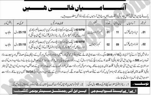 Jobs-in-Pakistan-Army-NLI-Regimental-Center-Gilgit