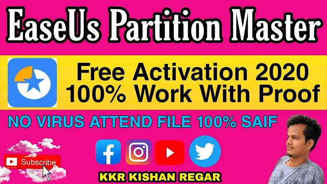 EASEUS Partition Master Activation Free