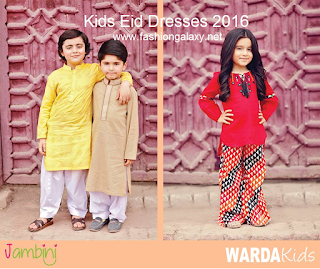 e75d6fc91d07 Warda Kids – Jambini Summer Collection 2016-17  Kid s Eid Outfits ...