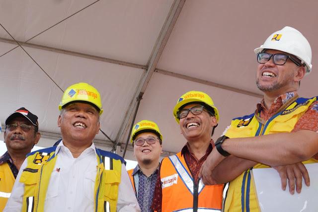 Pembangunan Tol Serpong-Balaraja di BSD City Ditinjau Langsung Menteri PUPR
