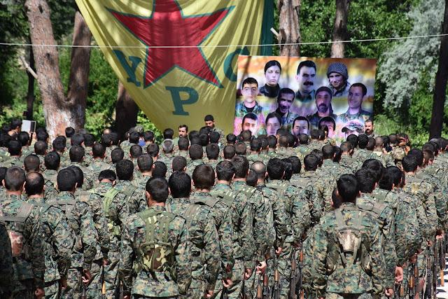 Efrin YPG YPJ üçüncü 3 alay kuruldu askeri birlik Rojava Suriye