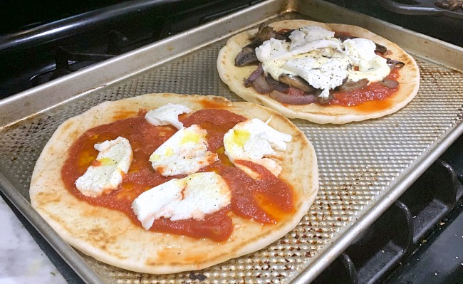 DIY Pizzas on the Barbecue Recipe