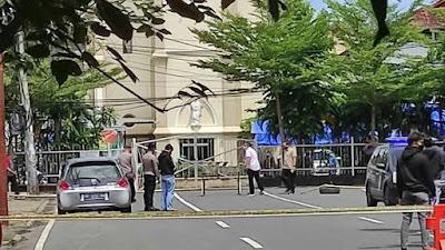 Pelaku Bom Bunuh Diri  di Depan Gereja Katedral Makassar Sudah di Identifikasi