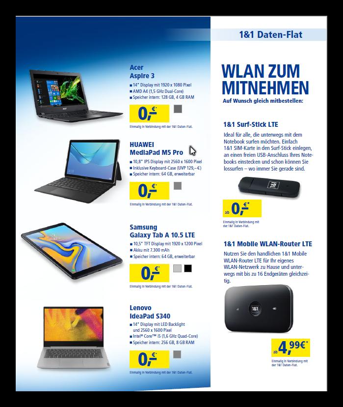 1 1 Nano Sim Karte Bestellen Kosten.1 1 Tablet Flat Mit Und Ohne Tablet Im D Netz Highspeed Flatrate