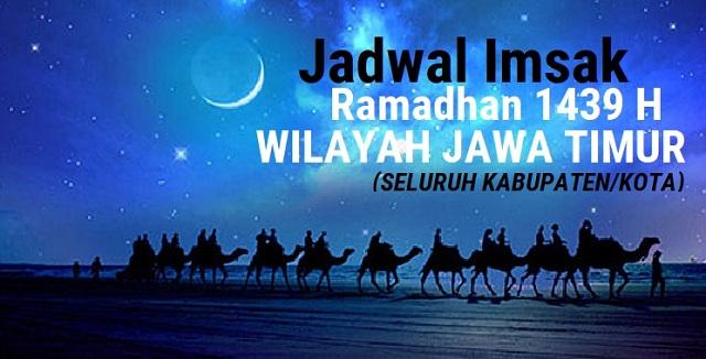 Jadwal Imsak Ramadhan 2018 (1439 H) Wilayah Jawa Timur