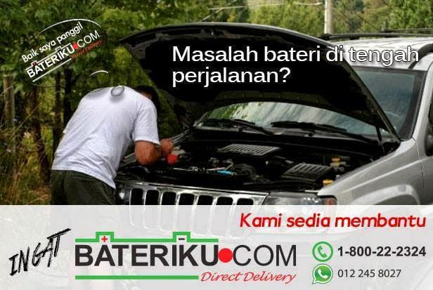 Bateriku.com penyelamat ketika bateri kereta kong