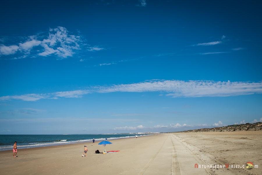 Playa de los enebrales de Punta Umbría