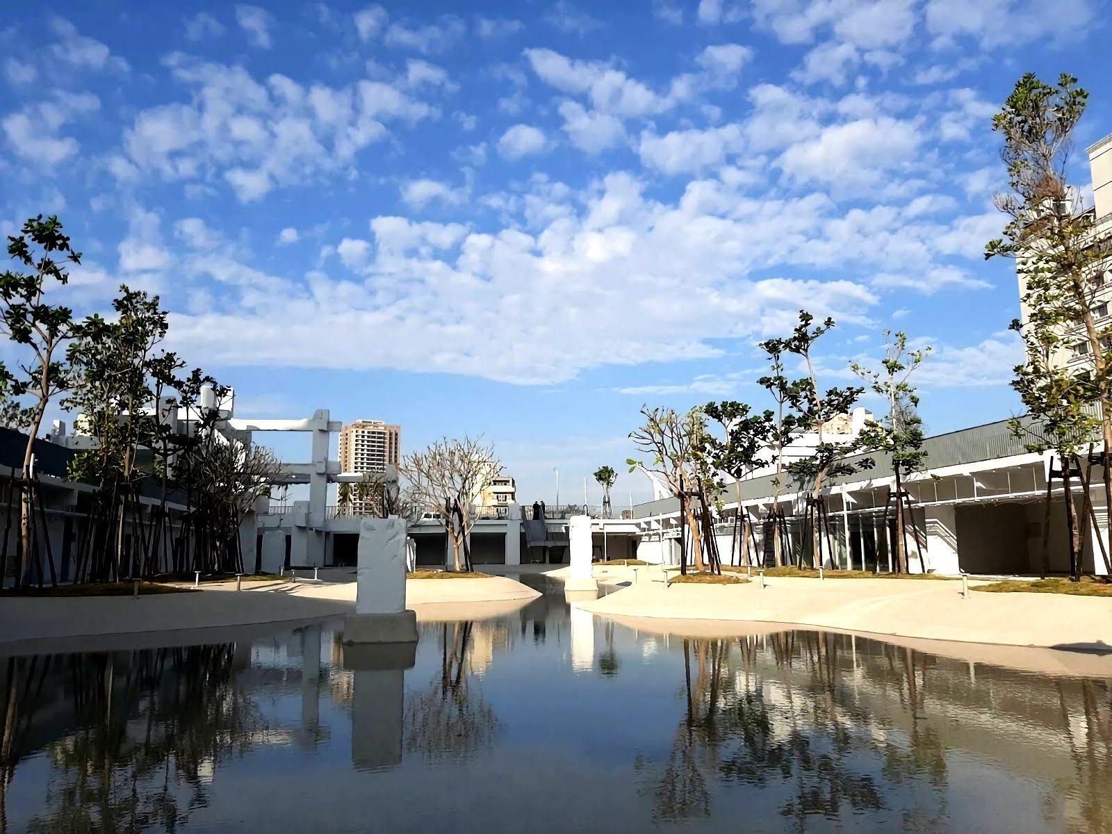 中國城變身潟湖親水公園|河樂廣場3/7正式開幕啟用|日拍夜拍都美