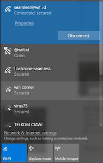 Cara Mengkoneksikan dan Login Akun Seamless WiFi.id