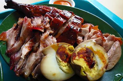 Hong Kong Jin Tian, duck char siew