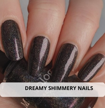 Dreamy Shimmery Nails