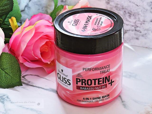 maska do włosów Gliss Kur Protein+