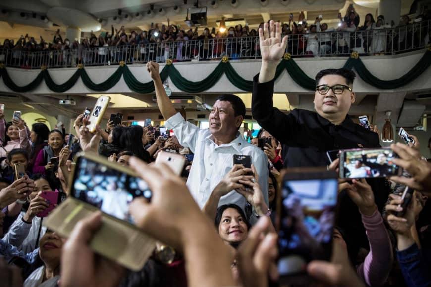 Kim Jung-un, Rodrigo Duterte