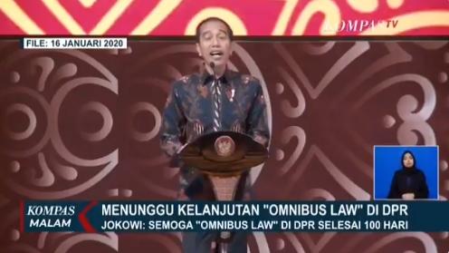 Marak Protes UU Cipta Kerja, Kemana Jokowi?