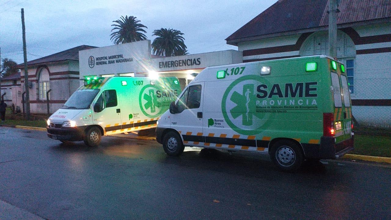 Ambulancias Hospital de General Madariaga