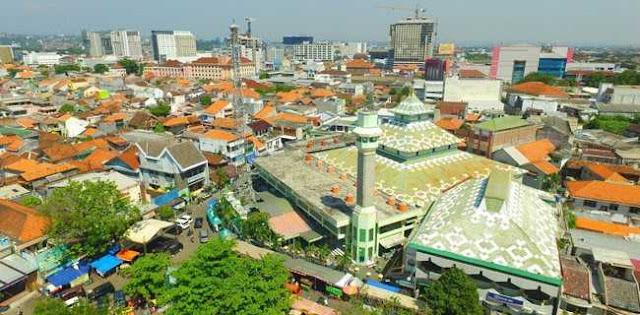 Prabowo Subianto Tetap Jumatan Di Masjid Kauman Semarang